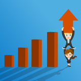 Growth concept Stock Photography