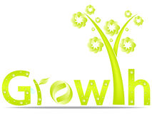 Growth design. Isolated on white Royalty Free Illustration