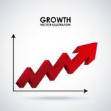Growth design Royalty Free Stock Photo