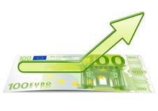 Growth of euro Stock Photos