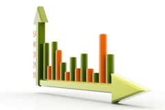 Growth and graph Stock Photos