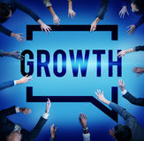 Growth Grow Development Improvement Change Concept.  Royalty Free Stock Image