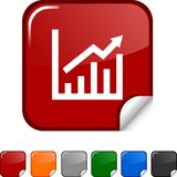 Growth  icon. Stock Image