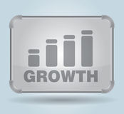 Growth - illustration Royalty Free Stock Photography