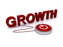 Growth illustration Royalty Free Stock Photos