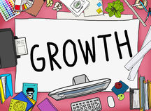 Growth Improvement Grow Increase Process Concept Royalty Free Stock Images