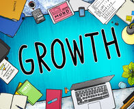 Growth Improvement Grow Increase Process Concept Stock Images