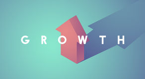 Growth Improvement Increase Arrow Up Icon Royalty Free Stock Images