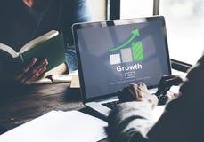 Growth Improvement Success Development Website Concept Royalty Free Stock Image