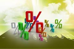 Growth percentage Stock Photos