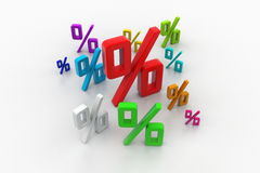 Growth percentage Stock Images