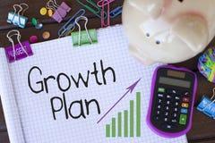 Growth Plan Royalty Free Stock Photo