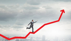 Growth and progress in business Stock Photos