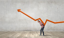 Growth and progress concept Royalty Free Stock Images