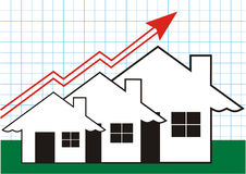 Growth in Real Estate on Graff Stock Images