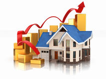 Growth of real estate market Stock Photo