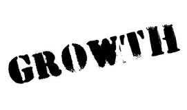Growth rubber stamp Stock Photos