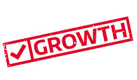 Growth rubber stamp Royalty Free Stock Photography