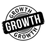 Growth rubber stamp Royalty Free Stock Photos