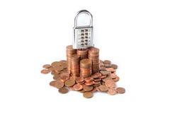 Growth in savings Stock Image