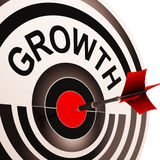 Growth Shows Maturity, Growth And Improvement Stock Images