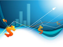 Growth statistic financial frame. Eps10. Abstrac vector growth statistic financial frame. Eps10 Stock Image