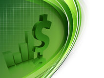Free Growth Statistic Financial Frame. Eps10 Stock Photography - 26840032