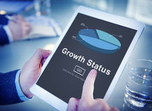 Growth Status Data Development Business Concept Royalty Free Stock Image