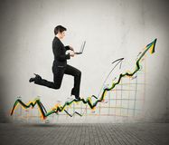 Growth and success in business Stock Images
