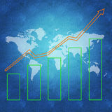 World economy concept Stock Photos