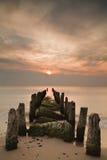 Groyne Image libre de droits