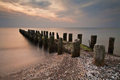 Groyne Stock Photo