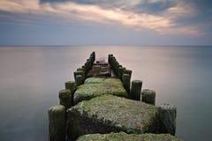 Groyne Photo stock