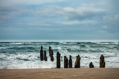 Groyne Royalty Free Stock Images