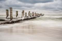 Groyne Royalty Free Stock Photos
