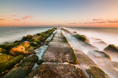 groyne Photo stock