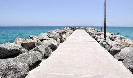 Groyne: Cottesloe Beach Royalty Free Stock Image