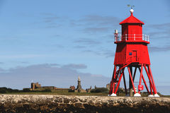 The Groyne Lighthouse. Royalty Free Stock Image