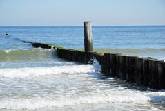 Groynes Royalty Free Stock Images