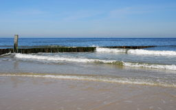 Groynes Royalty Free Stock Image