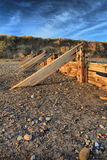 Groynes at Spurn Point Stock Photography