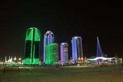 Grozny-cidade Fotos de Stock