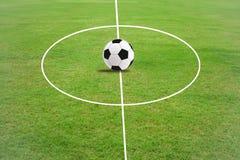 gräs för fotbollfält Royaltyfri Foto