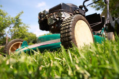 gräsklippare Royaltyfri Fotografi