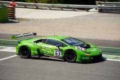 GRT Grasser Racing Lamborghini Huracan GT3 at Monza Royalty Free Stock Images
