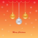 Gruß der frohen Weihnachten Lizenzfreie Stockfotografie