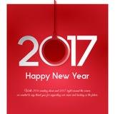 Gruß des neuen Jahres Lizenzfreies Stockbild