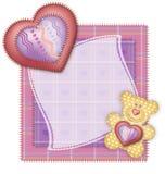 Gruß-Karten-Valentinstag Lizenzfreie Stockfotos