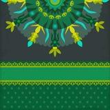 Gruß-Sommer-Green Card Stockfotos
