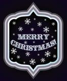 Grußkarte der frohen Weihnachten Stockbilder